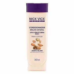 Condicionador Nick&Vick 300ml Brilho Natural