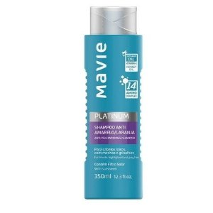Shampoo Mavie 350ml Platinum