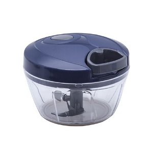 Processador semiautomático com Dispenser Pratic Chef Azul