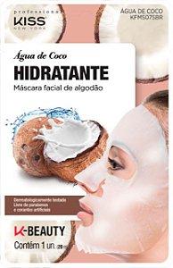Máscara Facial Kiss Ny De Algodão Água De Coco