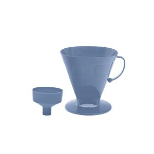 Porta Filtro de Café Azul Paramount