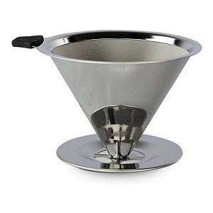 Filtro Coador de Café Reutilizável Inox UnyHome
