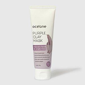 Máscara Facial Oceane Argila Roxa Purple Clay Mask 75g