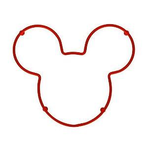 Descanso de Panela Mickey Mouse Vermelho