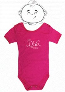 Body Bebê Mini Diva