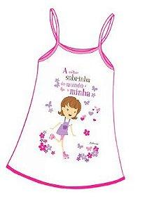 Camisola Infantil Personalizada A Melhor Sobrinha ou A Melhor Filha...