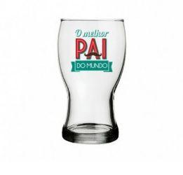 Copo de Cerveja O Melhor Pai do Mundo