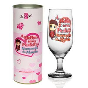 Taça floripa A Melhor e Mais Perfeita Namorada do Mundo  + Tubete
