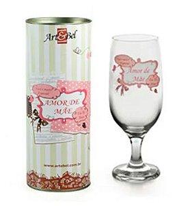 Taça floripa Amor de Mãe+ Tubete