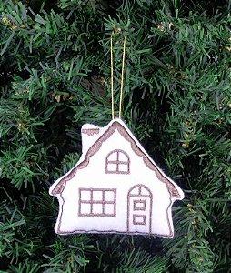 Enfeite de Natal casa