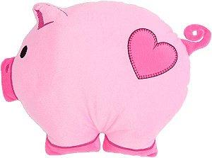 Almofada infantil bichinhos, Porquinho rosa