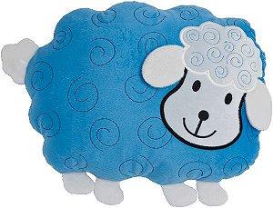 Almofada infantil bichinhos, Ovelha Azul
