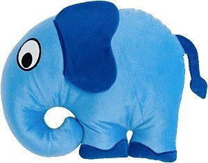 Almofada infantil animais da floresta, elefante azul