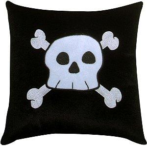 Almofada caveira pirata