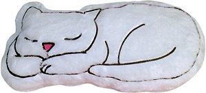 Almofada gato branco