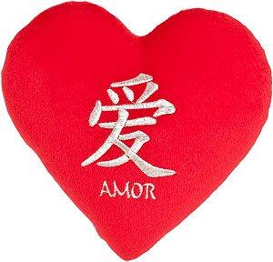 Almofada coração Ideograma M