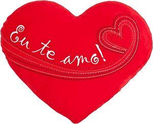 Almofada coração Eu te amo M