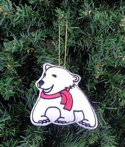Enfeite de Natal urso polar