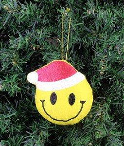 Enfeite de Natal smile