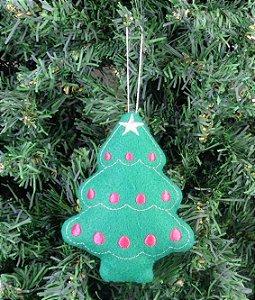 Enfeite de Natal pinheiro
