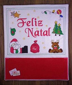 Enfeite de Natal porta-cartões