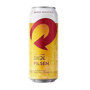 Cerveja SKOL Lata 473ML 12 unidades