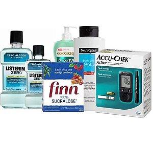 Kit Cuidados Especiais Diabéticos