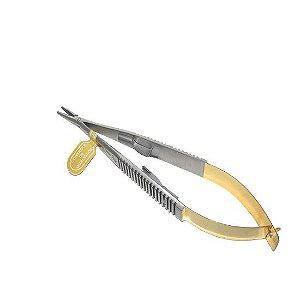 Porta-agulha Castroviejo alemão Kohler 18cm