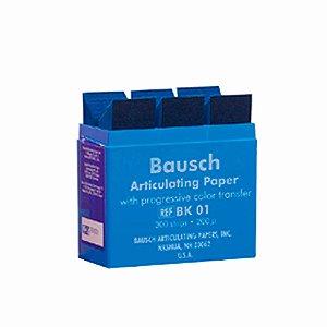 Papel Carbono 200 Micras Kit - Bausch - 300 Folhas