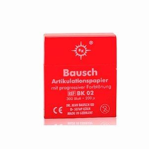 Papel Carbono 200 Micras Kit vermelho - Bausch BK 02