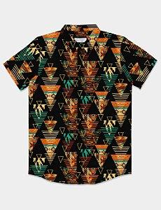 Camisa Ethnic Triangle