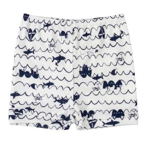 Shorts Infantil em Suedine Azul