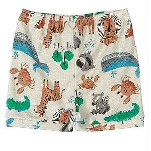 Shorts Infantil em Bege