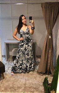 Vestido Noreen Fashion / Tamanho: P / Cor: P&B