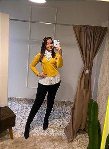 Camisa Maclagen / Tamanho: 42 / Cor: Amarela