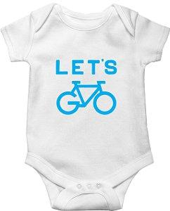 Body Bebê Let's go biker