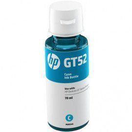 Refil de Tinta HP Azul (CYANO) GT52 M0H54AL 70ML Original