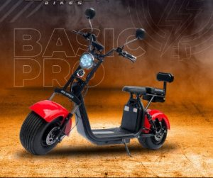 Basic Pro - 2000w - 2 baterias (autonomia em dobro - 90km)