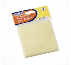 Bloco Smart Notes 76x76mm Amarelo Pastel 100 folhas
