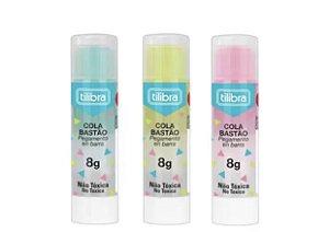 Cola Bastão Transparente Color