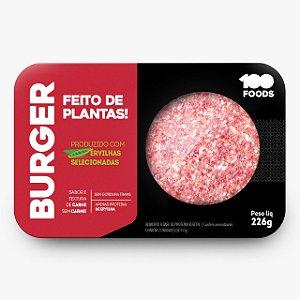 HAMBURGUER DE ERVILHA 226G - 100 FOODS