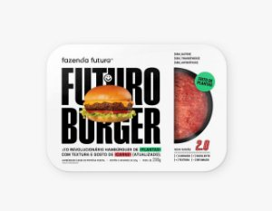BURGER DO FUTURO BANDEJA CAIXA 15 X 230g - FAZENDA FUTURO