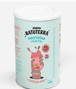 PROTEINA VEGANA ISOLADA CHOCOLATE 450g - NATUTERRA