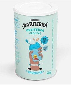PROTEINA VEGANA ISOLADA BAUNILHA 450g - NATUTERRA