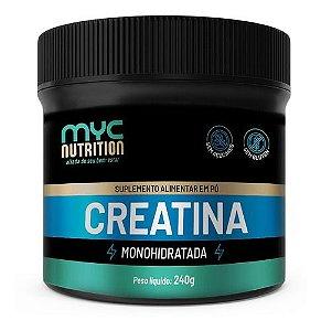 Creatina Monohidratada 240g - Myc Nutrition