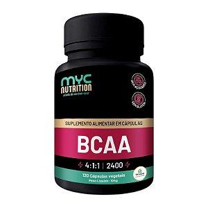 BCAA 4:1:1 120 Cápsulas Vegetais - Myc Nutrition