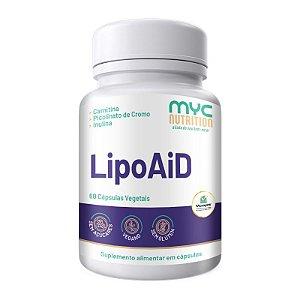 LipoAiD Emagrecedor 60 Cápsulas Vegetais - Myc Nutrition