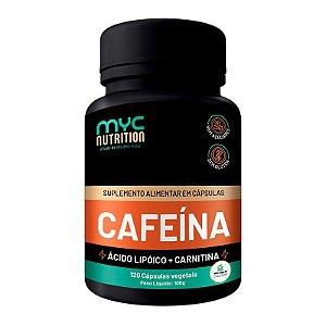 Cafeína 200mg Com Carnitina 120 Cápsulas Vegetais