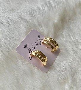 Brinco Ear Hook Ouro