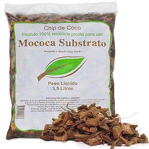 Chip de Coco Tratado Pronto Uso - Substrato Orgânico (3,5 Litros)